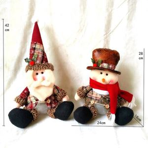 Hot Sale cute Christmas Tree Decorations Snowman Doll Children's Gift Toy