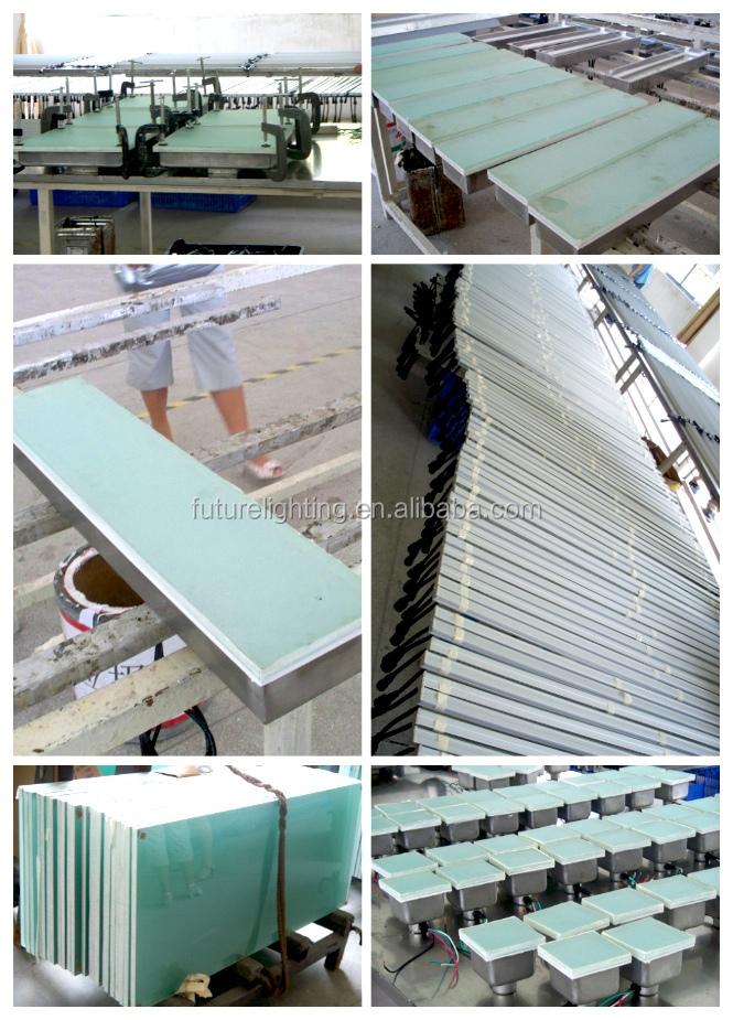 Production line for led brick tile light