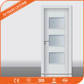 waterproof wpc interior door with glass design buy jfcg waterproof