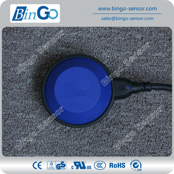 Mechanical PVC/rubber Cable PP IP68 Float Switch LS-CF-P04