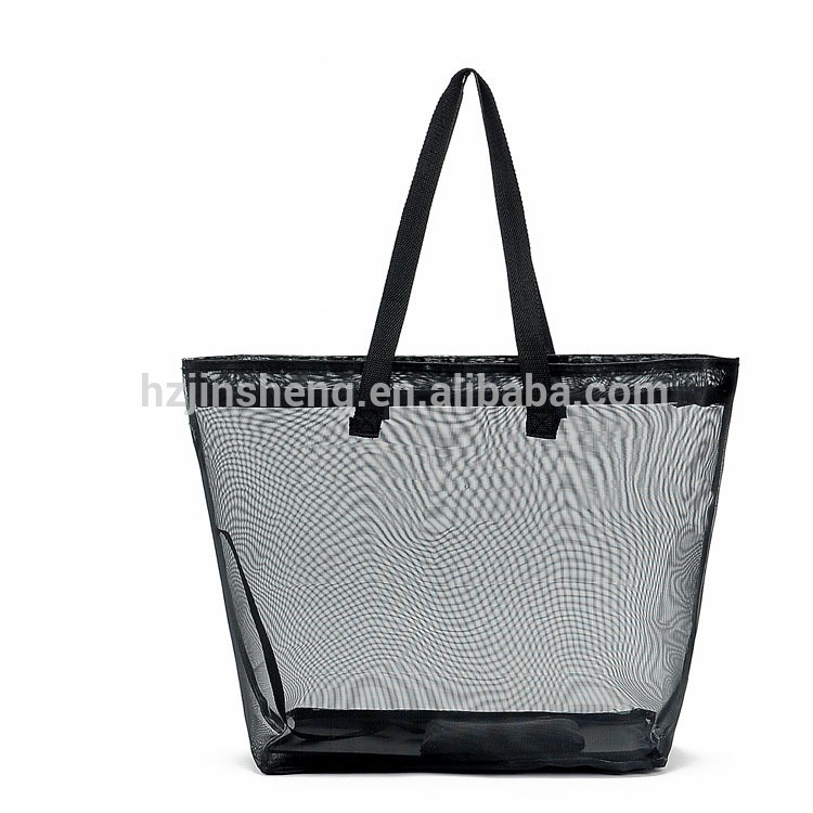 Whole Mesh See Through Beach Bags Product On Alibaba