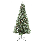 2020 New Style Artificial White Painting Decoration With Mixed Christmas Tree