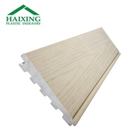 Thermal insulation pvc wall siding