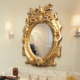 Antique Framed Wall Mounted Decorative Designer Wall Mirror