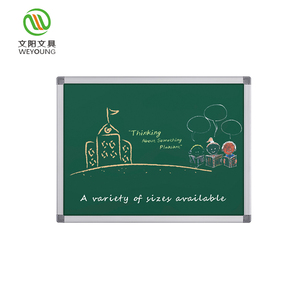 Environmental Teaching Writing Green Chalkboard For Office