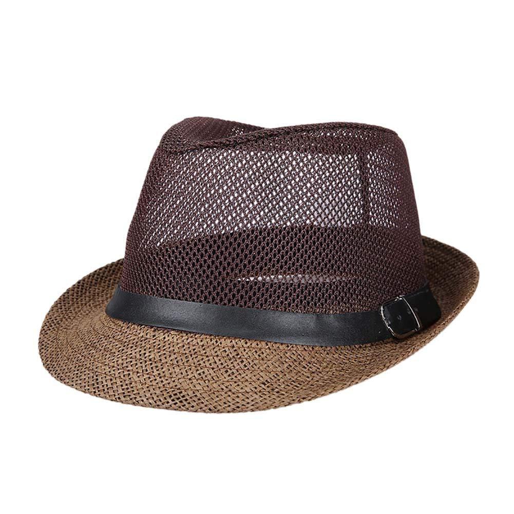 2171f0714a8 Get Quotations · Handfly Mesh Breezer Hat Crushable hat boonie hat summer  Men s top hat cowboy hat sun cap