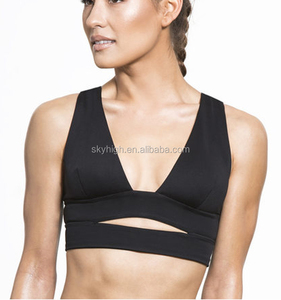 (Factory:ODM/OEM)Design your own sports bra sexy fitness apparel custom active wear