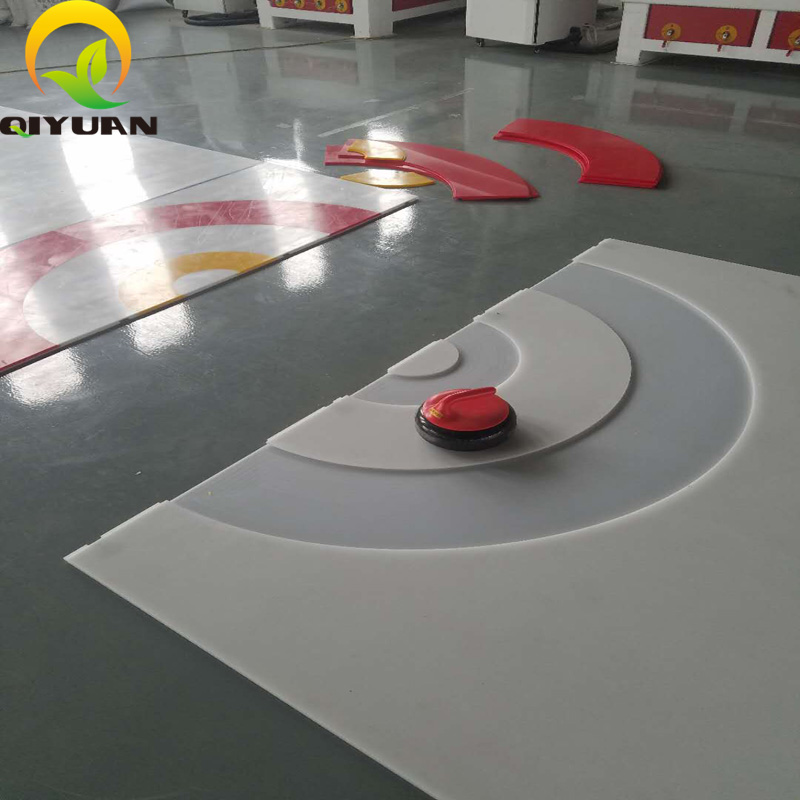 New Arrival Product Curling Plastic Board & Ice Rink Curling Board - Buy  Curling Sheet Machine,Ice Rink Curling Board,Curling Plastic Board Product  on