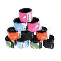 brand name printable tailor made company bracelet