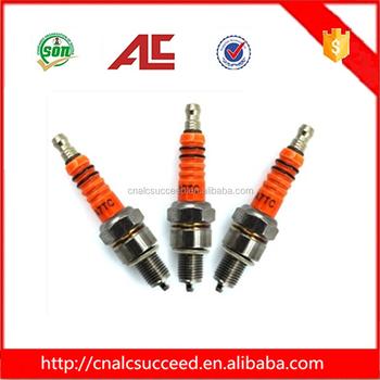 Orange Color Cd70/a7tc Spark Plug For Motorcycle - Buy Spark Plug For  Motorcycle,Orange Color Spark Plug For Motorcycle,Spark Plug A7tc For  Motorcycle