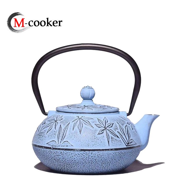 China Wholesale Cast Iron Drinkware Kettle Sets Tetsubin Tableware Tea Pots