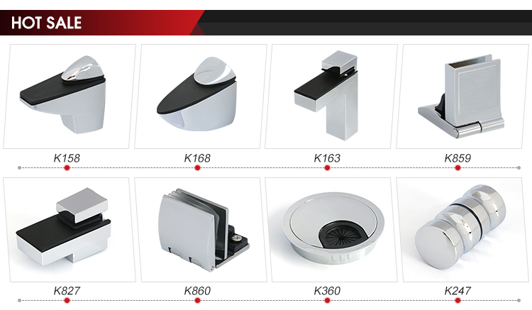 Stainless steel glass panel mounting support fixing brackets