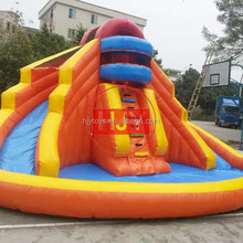 Amusement park inflatable trampoline / inflatable castle slide / high-quality inflatable water slide
