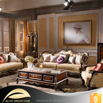AS16-latest living room sofa design/antique style sofa/living room ...