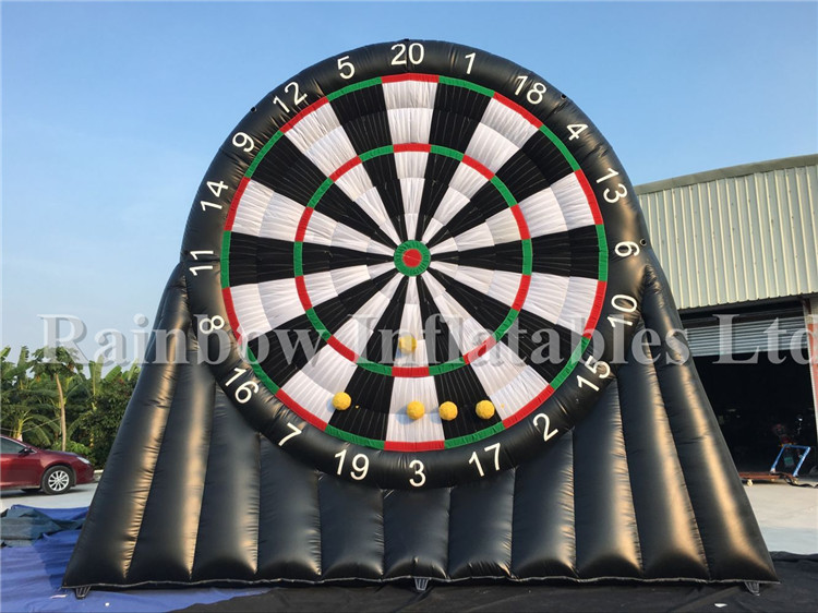 Kids Sports Inflatable Dart Game / Football Inflatable Soccer Darts