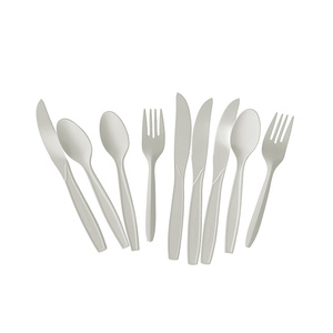 ECO-friendly Biodegradable spoon and fork made by corn starch