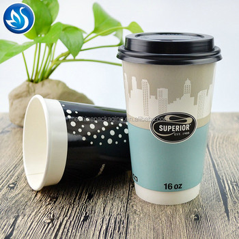 Ripple Wall Paper Cups With Lid and Sleeve_Disposable