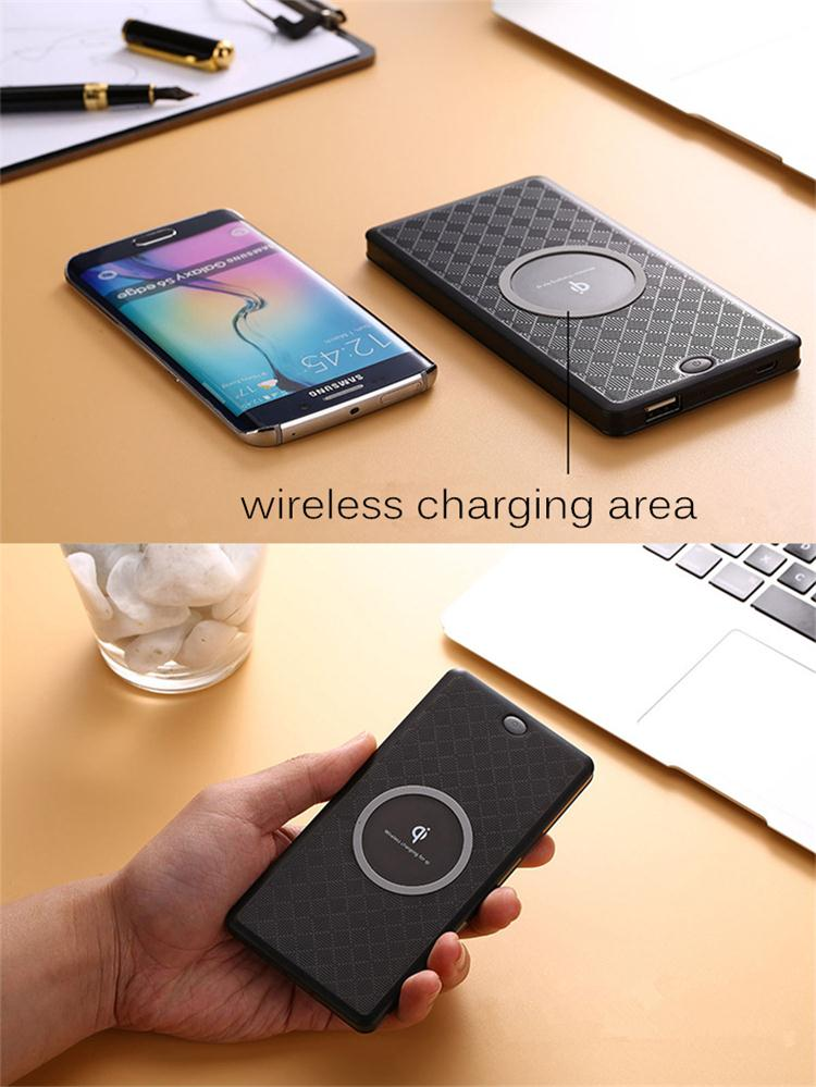 Portable Pocket Charger 6000mAh Type-C Wireless Power Bank