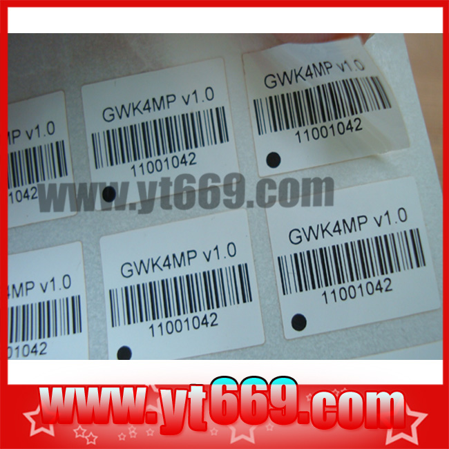 Checkpoint Adhesive Security Labels