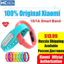 Original Xiaomi Mi Band 1S 1A Pulse Smart Sleep Heart Rate Monitor Bracelet Fitness Tracker for Android/iOS Phone Free Shipping