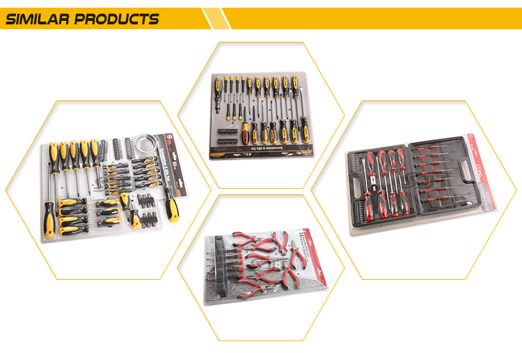 China Manufacture Precision hot sale promotion hand tool set