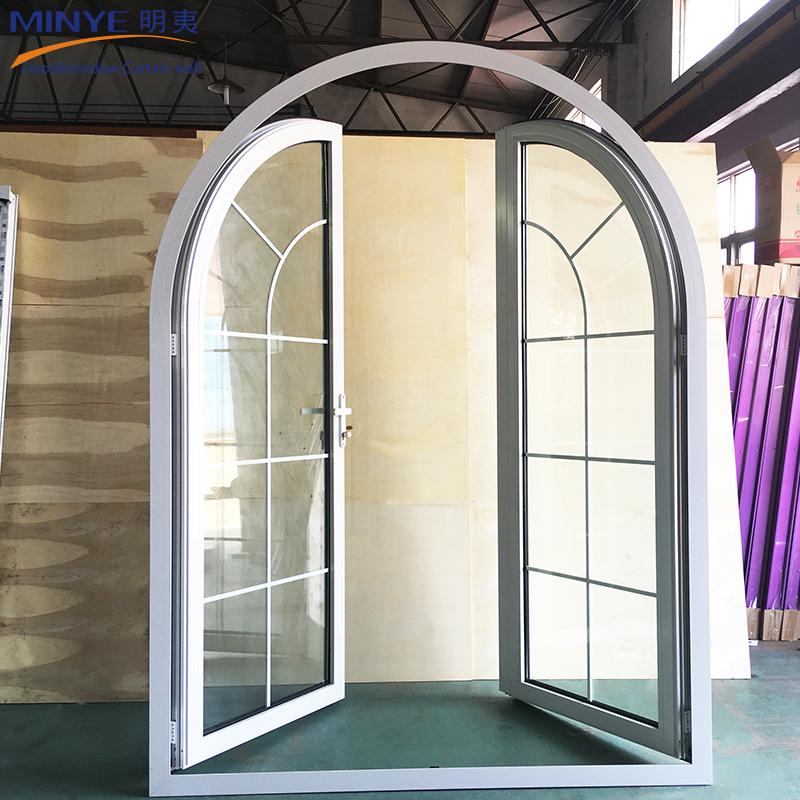 Door With Flower Designs/unbreakable Glass Door/glass Saloon Doors