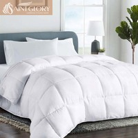 china supplier winter season microfiber firm filling quilt