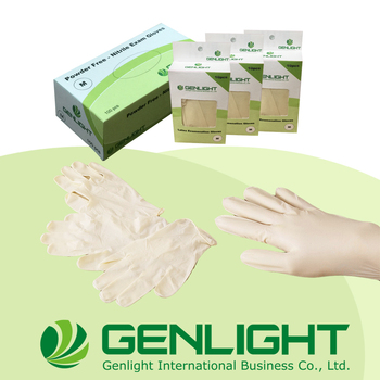 High Quality Non Sterile Manufacturer Latex Disposable Examinations Gloves