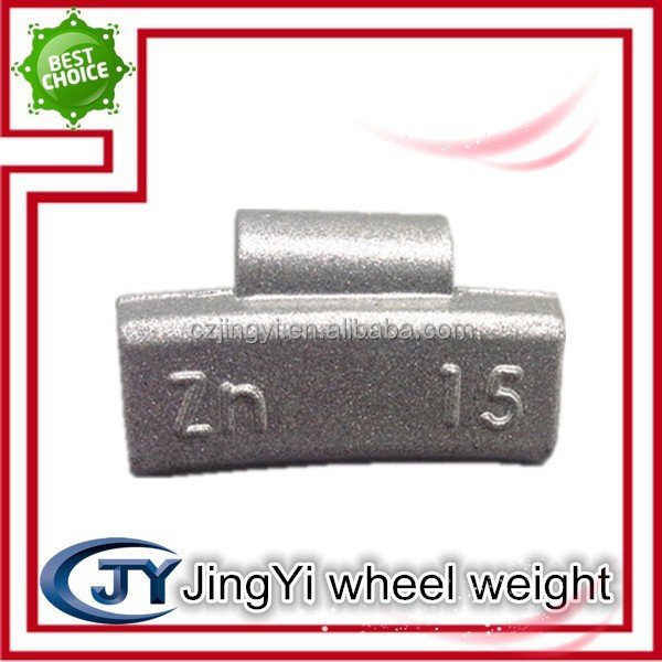 Die casting 15g alloy wheel Zinc wheel balancing weights