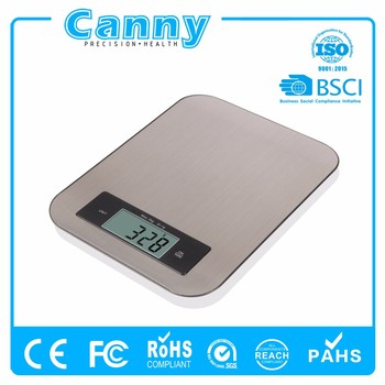 Digital Food Scale Kitchen Scale Slim Stainless Multifunction Tare Function Scale