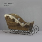 Wood Crafts Sleigh Wooden Christmas Sleigh 70362
