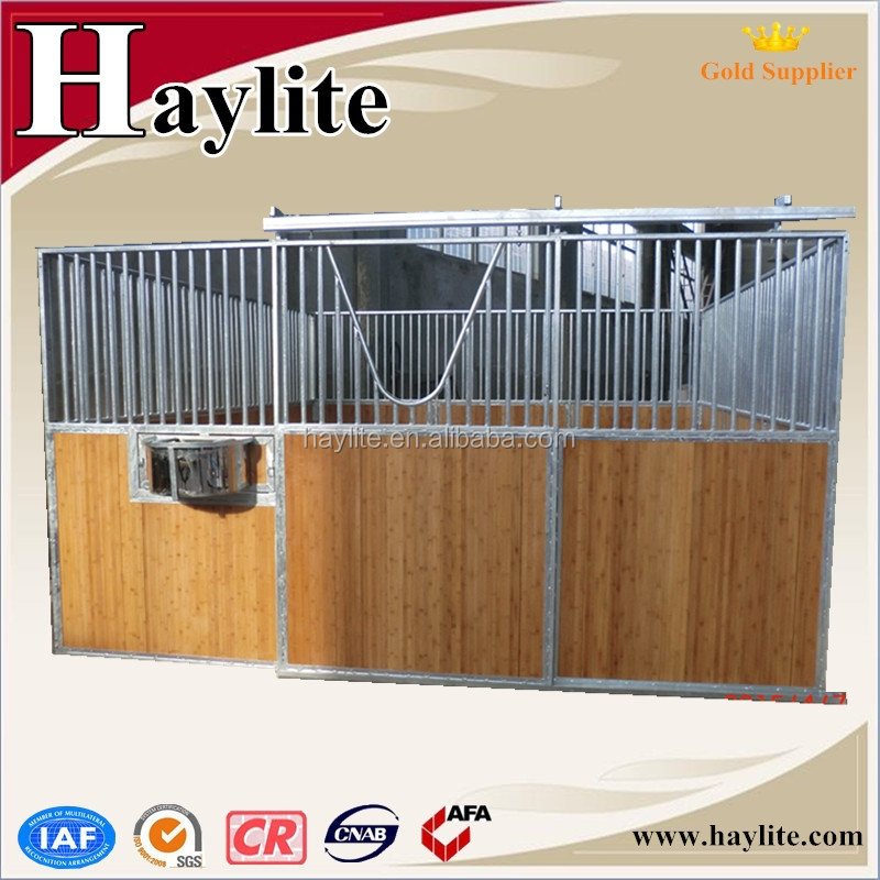 Bamboo Board Indoor Safety Horse Stalls horse stables Factory made