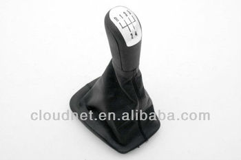 Gear Shift Knob & Boot in Chrome (5 speed) For Skoda Fabia Fabia MK2