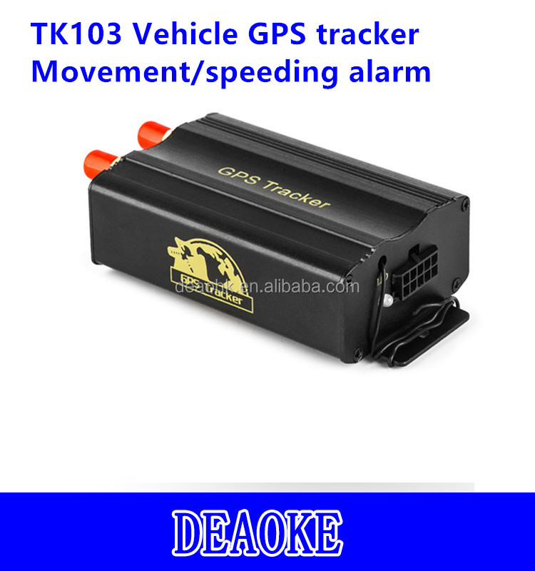 electricity saving device TK103A lock/ unlock the door by sms car gps tracker