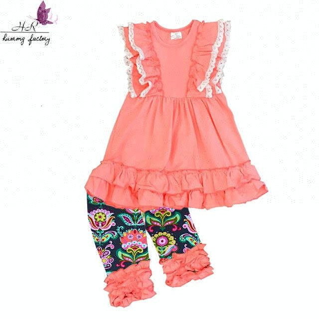 2f1e151bbfd47 Latest children summer cotton ruffle lace <strong>dresses</strong> clothes <