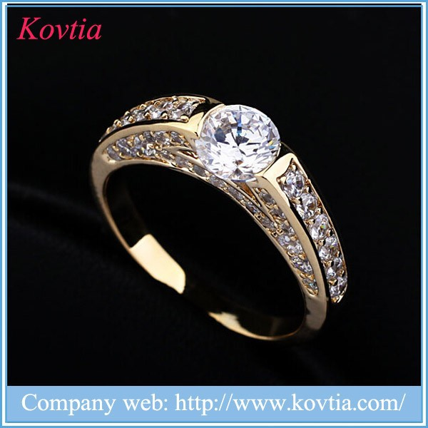 2015 Wholesale custom Rose gold ring beautiful pictures of laser rust removal gold ring