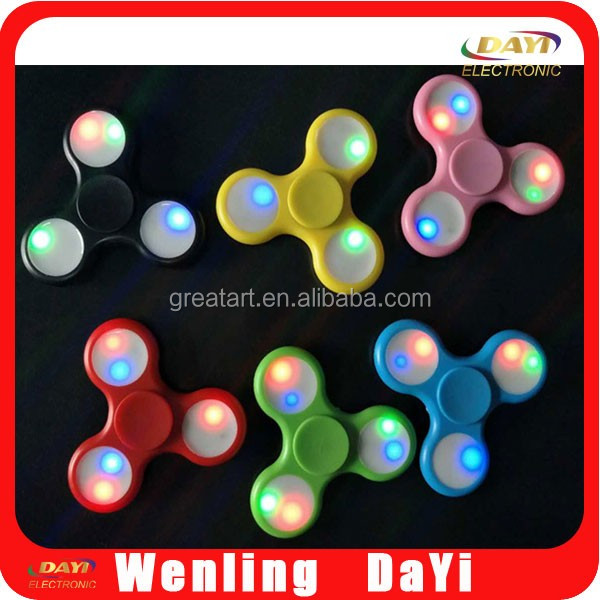 Wholesale toys tri spinner fidget 608 bearing fidget spinner toy