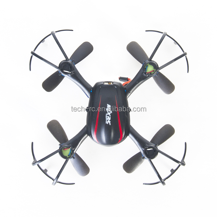 Black color 2.4G radio frequency super gyro mini quad helicopter for sale