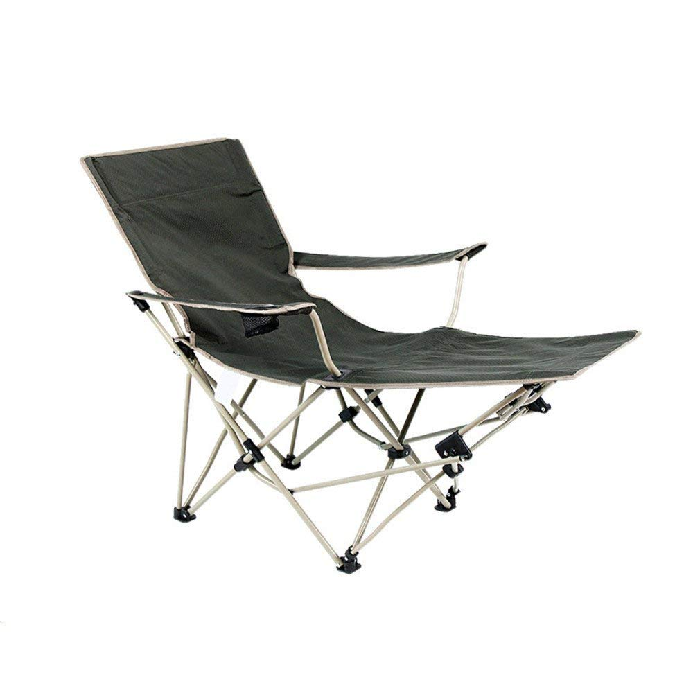 RFVBNM Folding bed Multifunctional folding chair Beach chair Simple lunch break chair Outdoor sun lounger