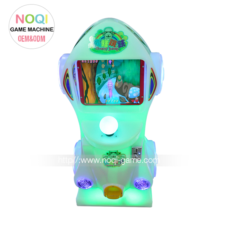 One-stop service Crazy jumping kids arcade center video game with touch screen