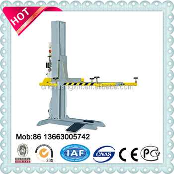 hydraulic parking lift system single post car lift