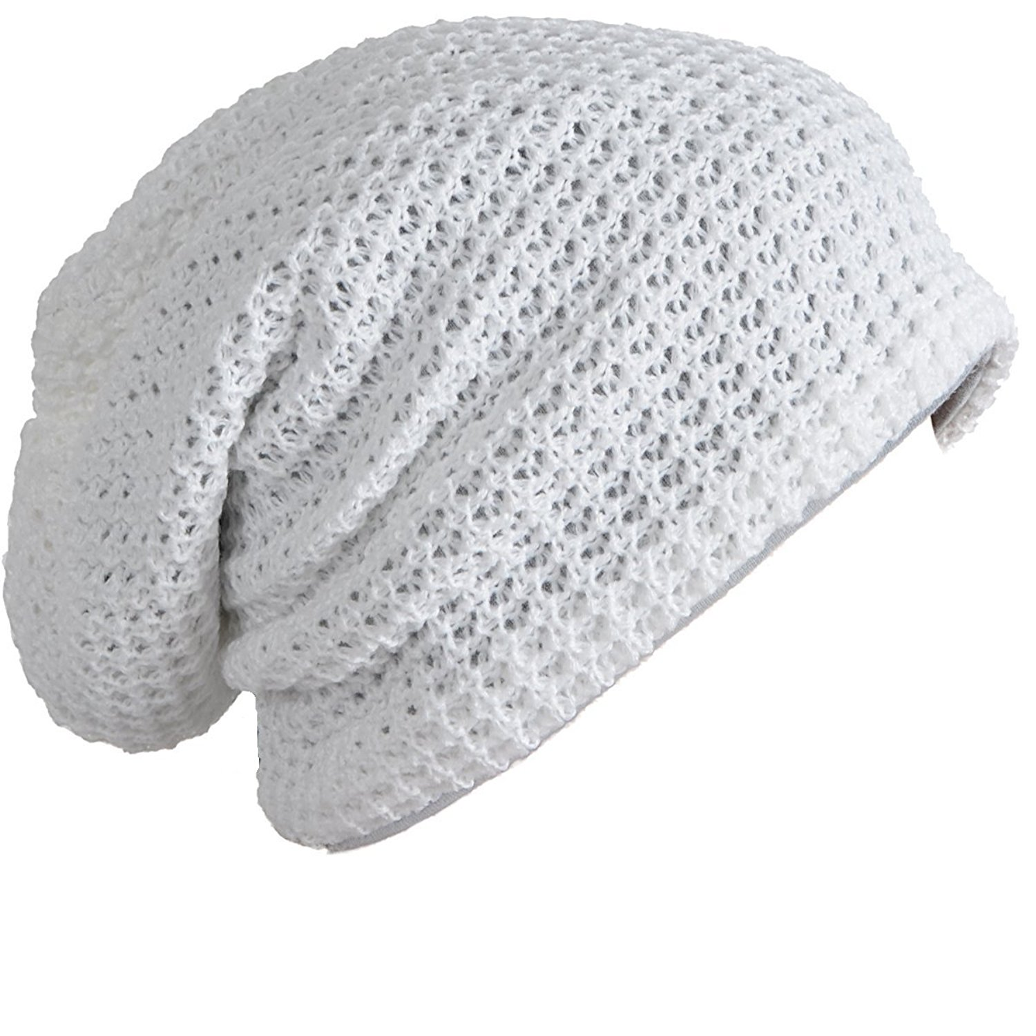 f6deb53321e Get Quotations · Honeystore Unisex Thick Slouchy Cable Knit Beanie Skull Caps  Toboggan Ski Hats