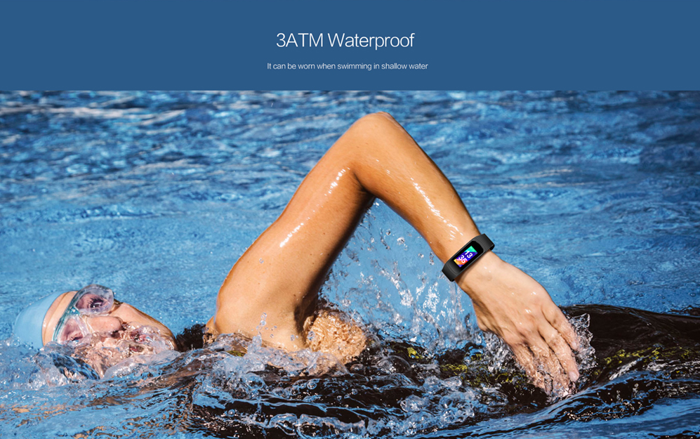 Hot Selling Android and IOS IP68 Waterproof Smart Bracelet manufacturer from China