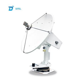 Ditel V241c 4-axis Auto Tracking 2 4m Vsat C Band Internet Marine Satellite  Dish Antenna Receiver Antennas For Communications - Buy Internet Satellite