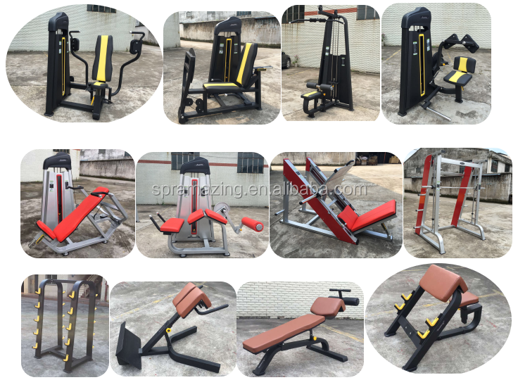Guangzhou Strength gym equipment AMA-8818 seated low row machine for training teres major