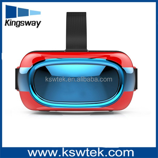 vr box 2.0 with bluetooth remot control vr box 3D glasses