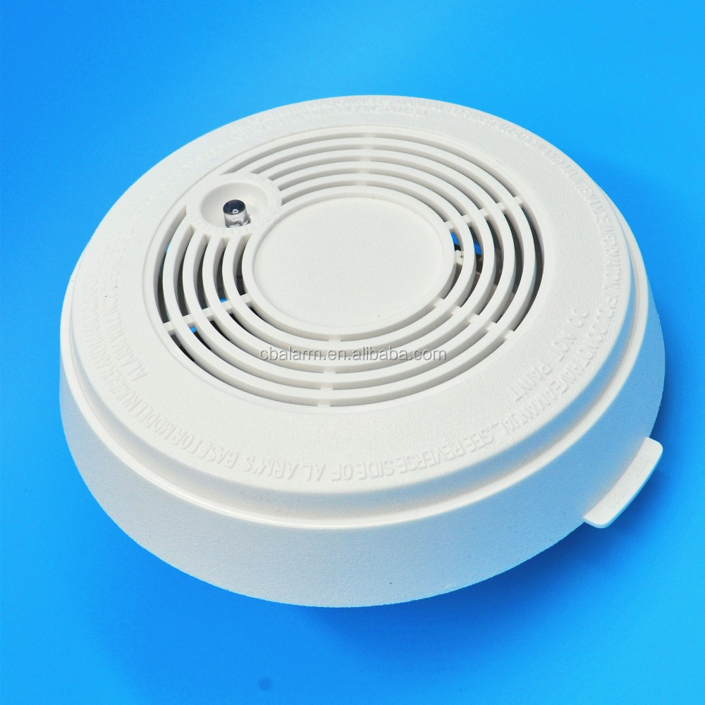 9V Battery Operated Simplex Duct Smoke Detector With EN14604 Certificate
