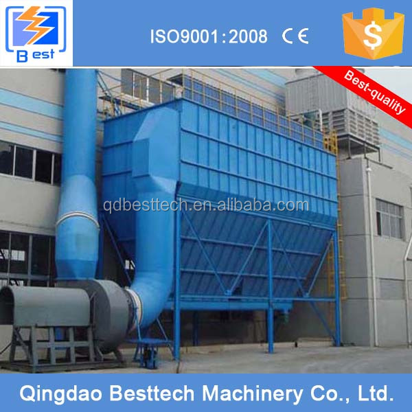 Besttech dust removal equipment/air pollution control machine/industrial dust collector