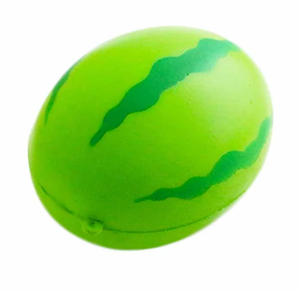 Novelty Fruit Green Watermelon Soft Squishy Toy Scented Squeeze Stress Ball Relief Slow Rising Toy