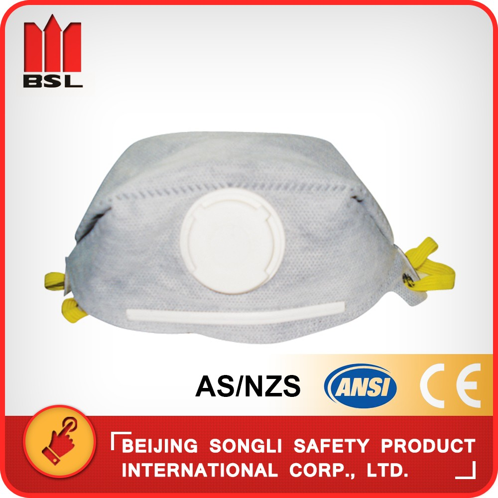 Sld-9316 Ce Non-woven Fabric Safety Dust Mask With Active Carbon ...